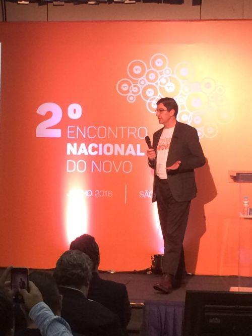 2o Encontro nacional do NOVO - Luiz Aguilar do CONFIA