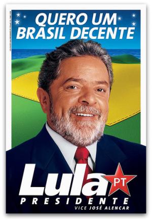 Lula - Propaganda eleitoral 2002