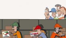 Os três novos partidos - Ilustração de Júnior Lima