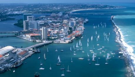 Vista aérea de Recife (PE)