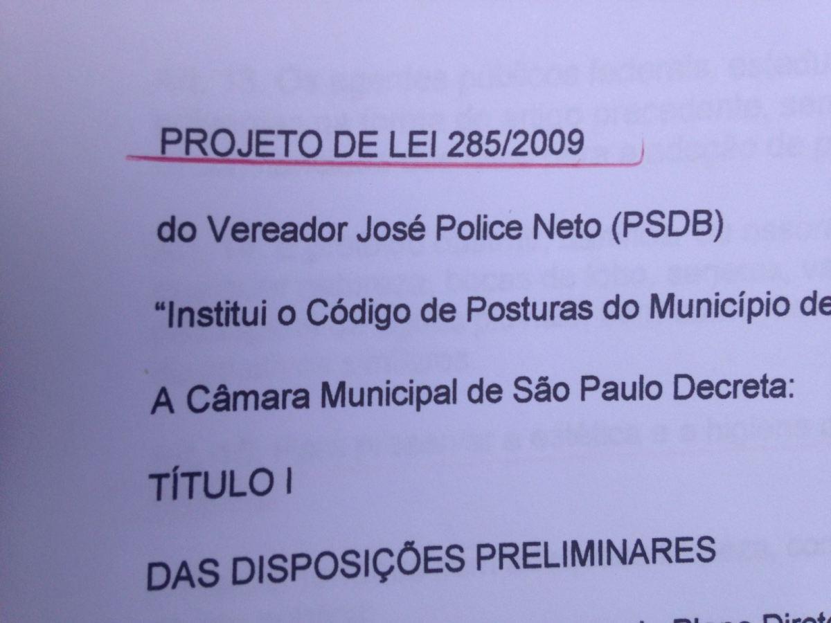 """Projeto de Lei"""