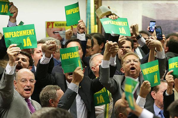 Brazil Impeachment Partido NOVO