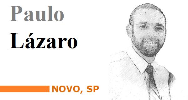 Paulo Lázaro, NOVO-SP