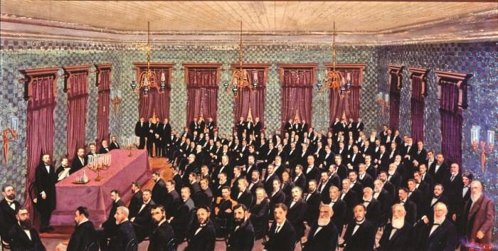 """""""Convenção de Itu"""", primeira convenção republicana do Brasil - 18 de abril de 1873"""
