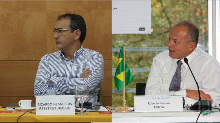 Ricardo Negreiros e Roberto Motta
