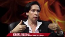 Carmen Miguelles, pré-candidata do Partido NOVO à prefeitura do Rio de Janeiro