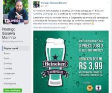 Evento era promovido pelo pré-candidato a vereador Rodrigo Marinho e o movimento Livres do PSL. (Foto: Reprodução)