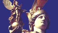 Ato I Cena III - Deusa Athena Atena segurando Paladio Palladium - Livro Pequeno Teatro da Ilíada e Odisseia - Teatro completo para o ensino fundamental